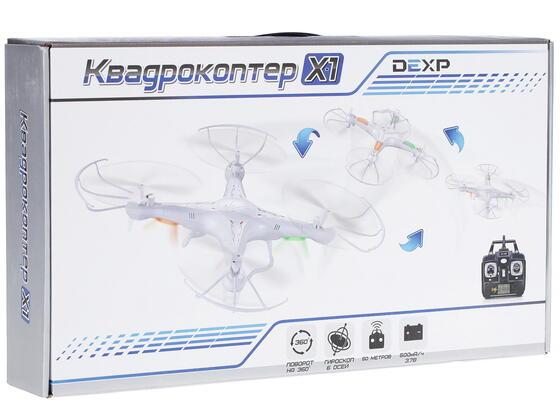 Квадрокоптер DEXP X-1