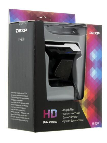 Веб-камера Dexp H-200