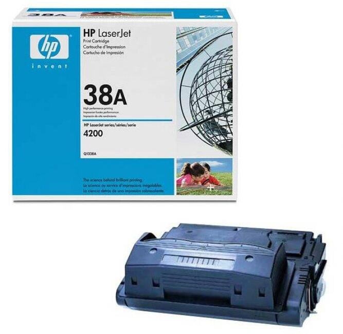 Картридж HP Q1338A для LJ 4200. Черный. 12000 страниц.