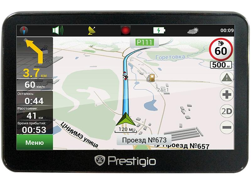 Gps навигатор prestigio 4300bt
