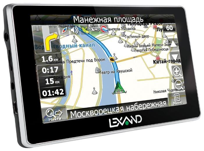 Gps навигатор lexand st 5350