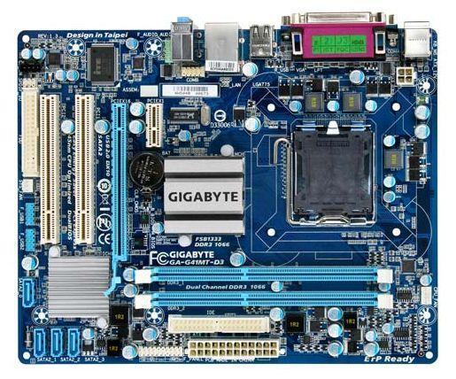 Продам материнскую плату gigabyte ga-g41mt-d3 в отличном состоянии