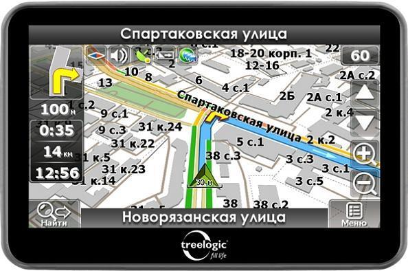 Gps навигатор treelogic tl431 4gb цена