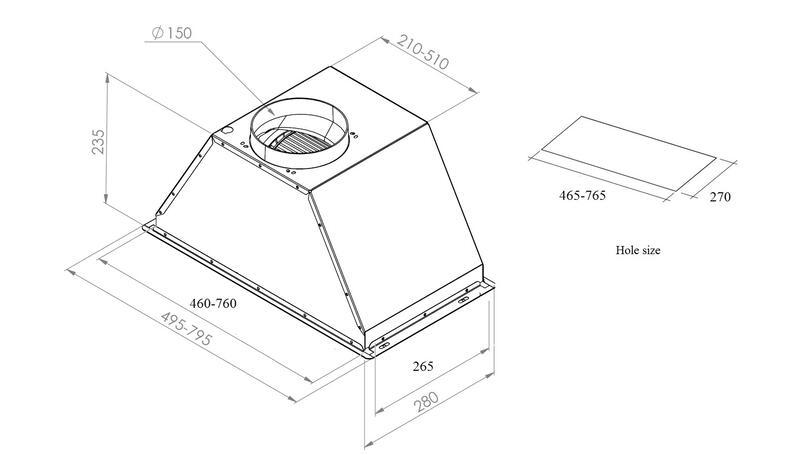 Вытяжка zigmund shtain k 002.61 и схемами