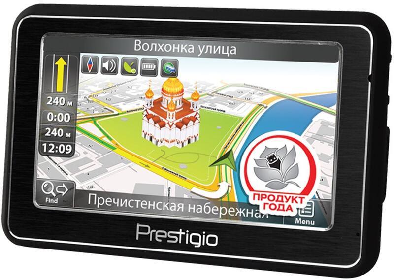 Gps навигатор prestigio geovision 5266