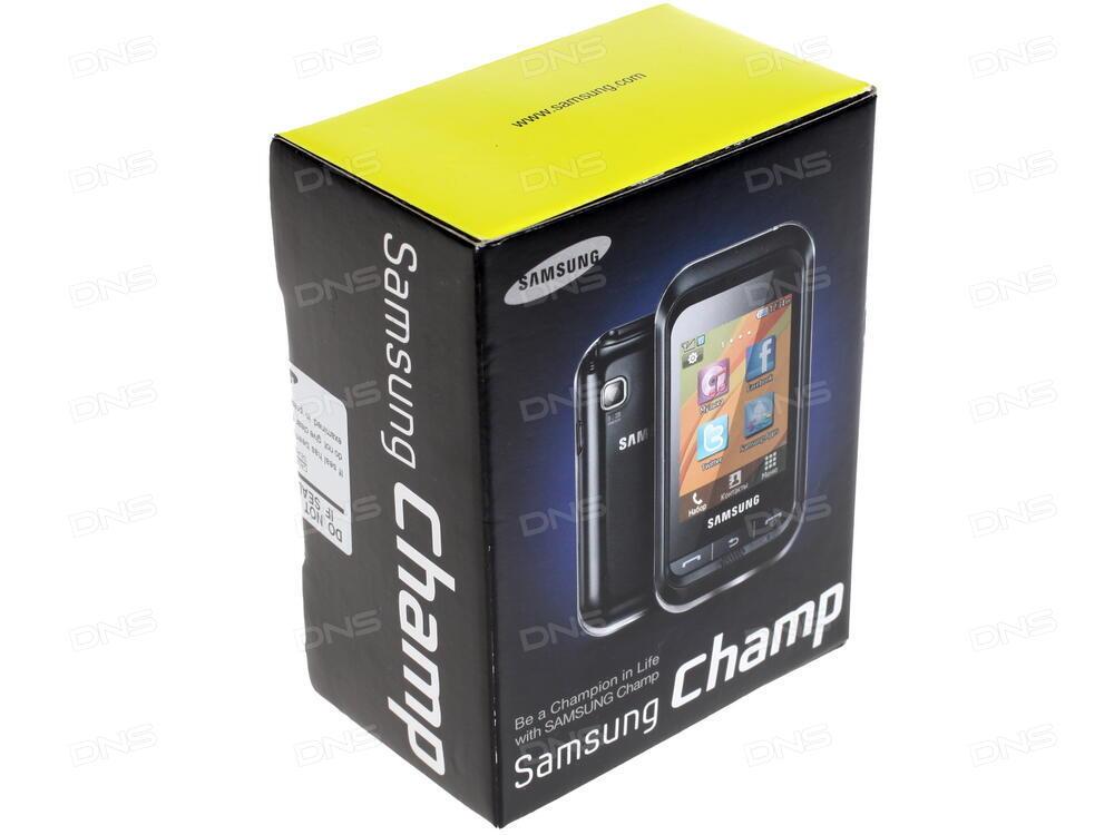 Samsung gt-c3300 champ deep black