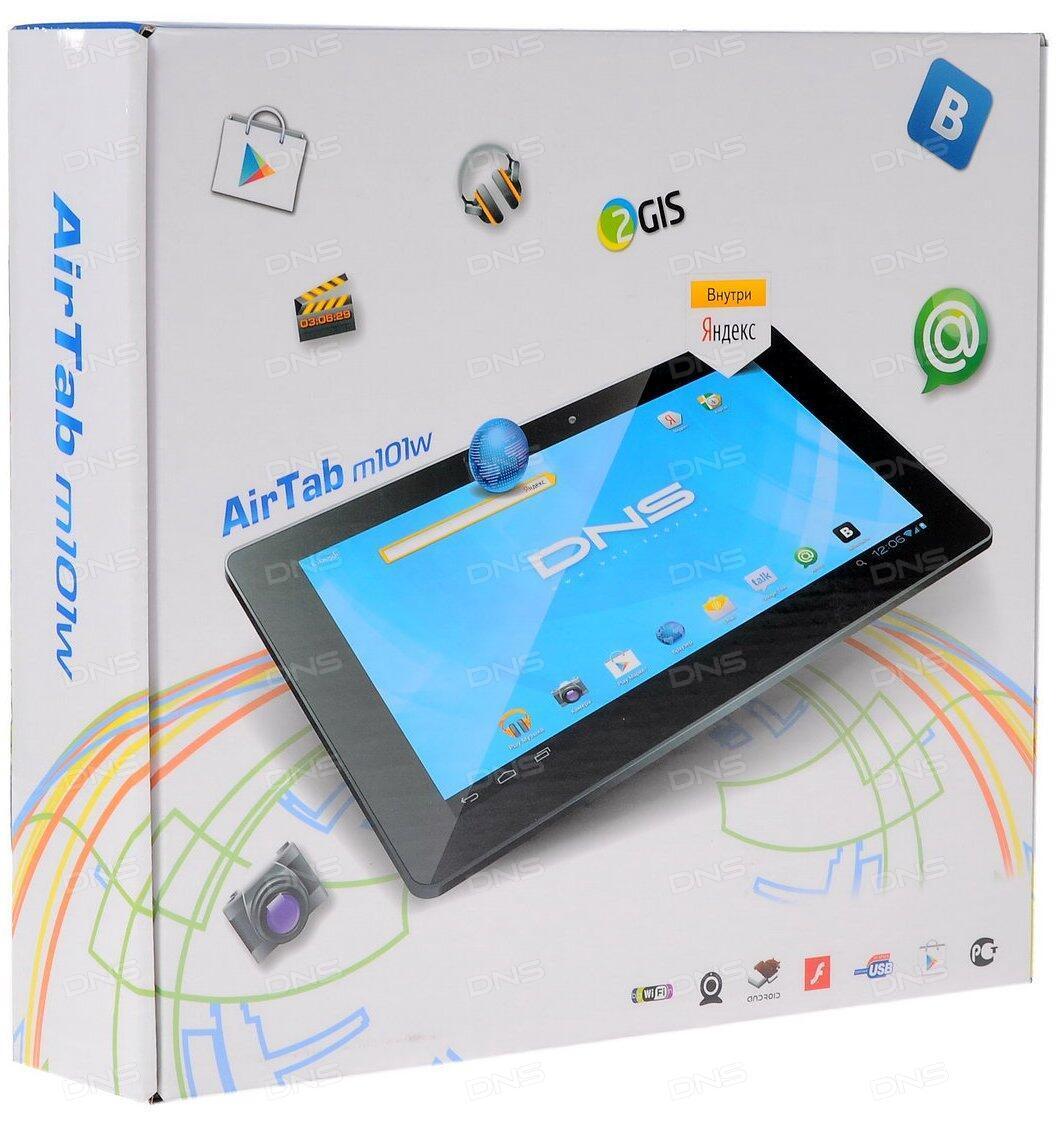 "10.1"" Планшет DNS AirTab M101w 16 Гб черный - купить в интернет магазине DNS. Характеристики, цена DNS AirTab M101w 0160954"