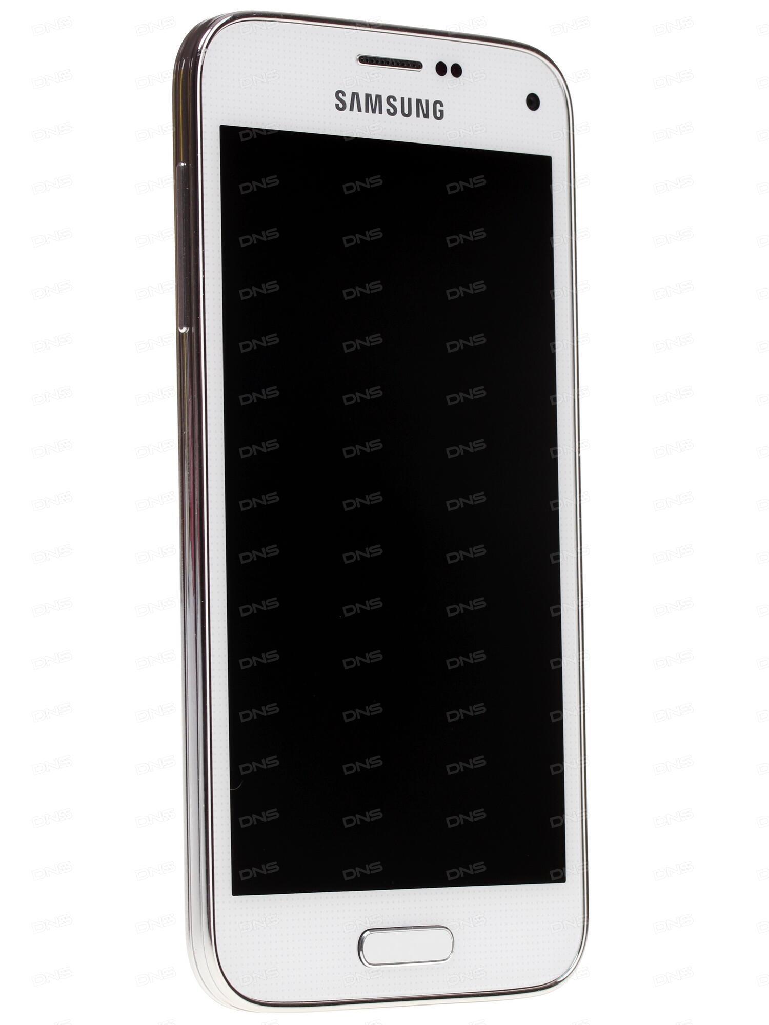 45 Smartfon Samsung Sm G800f Galaxy S5 Mini Lte 16 Gb Belyj