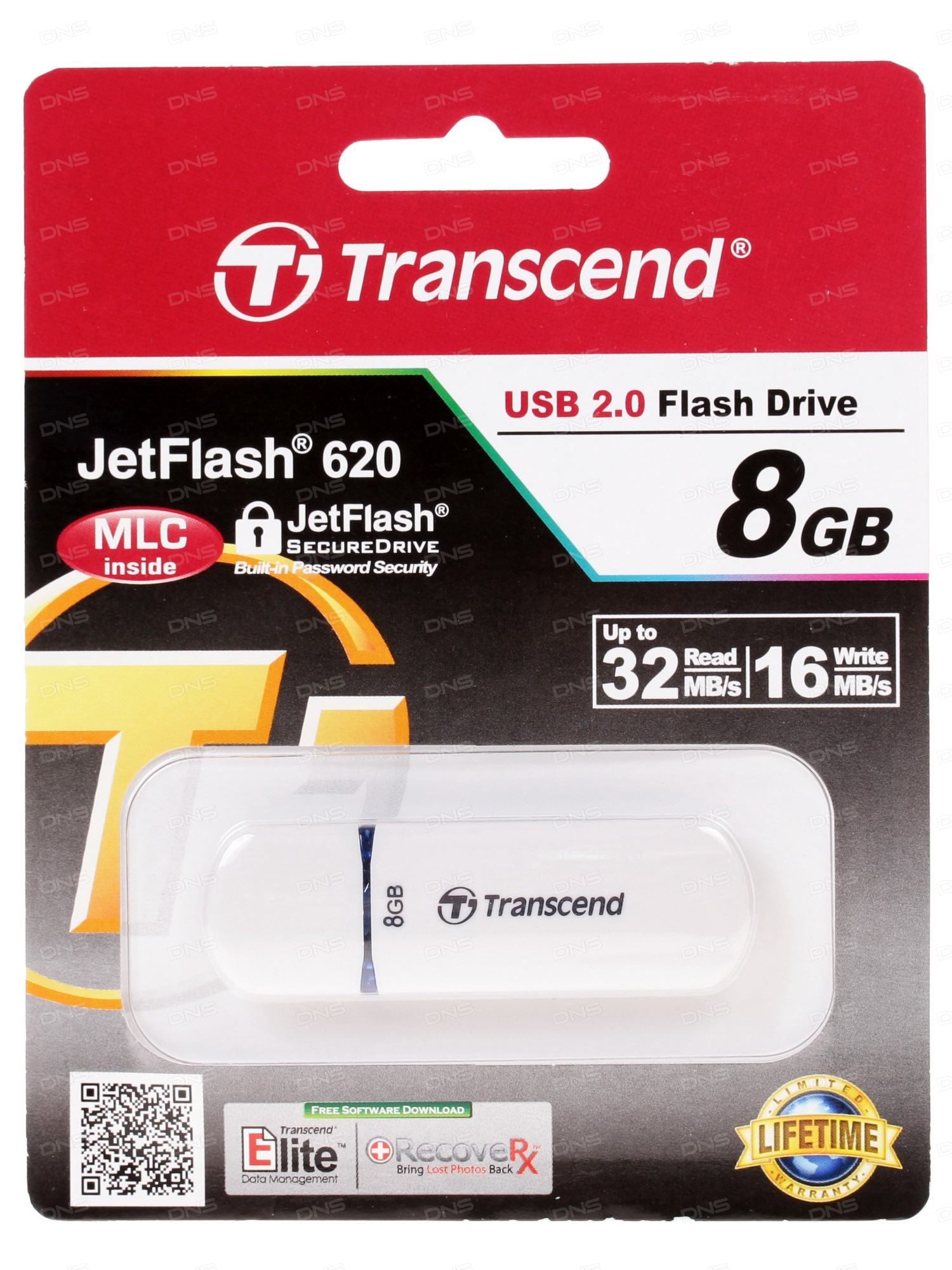Usb 20 накопитель transcend jf 620 (16gb)