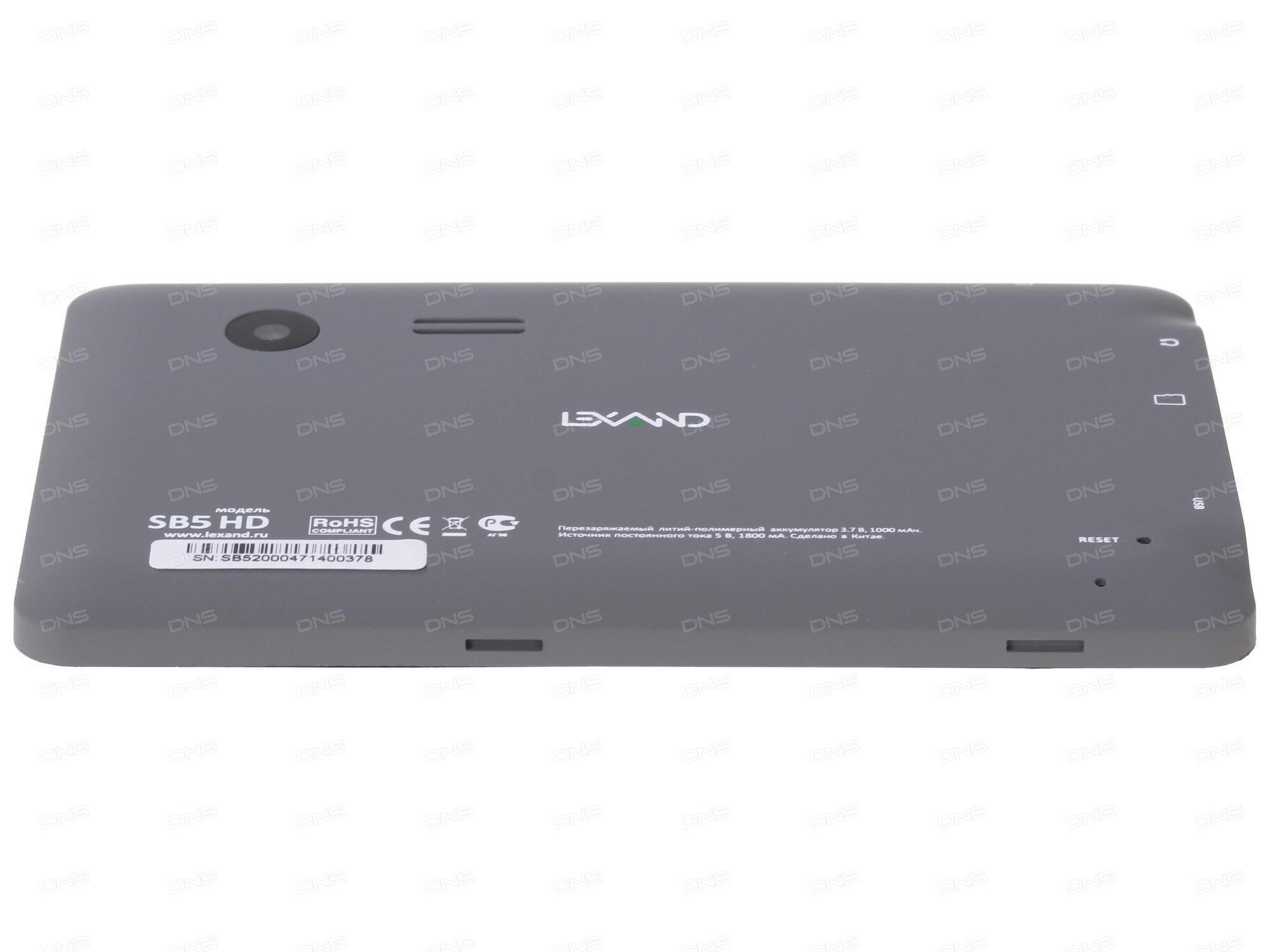 Технические характеристики GPS навигатор LEXAND SB5 HD ...
