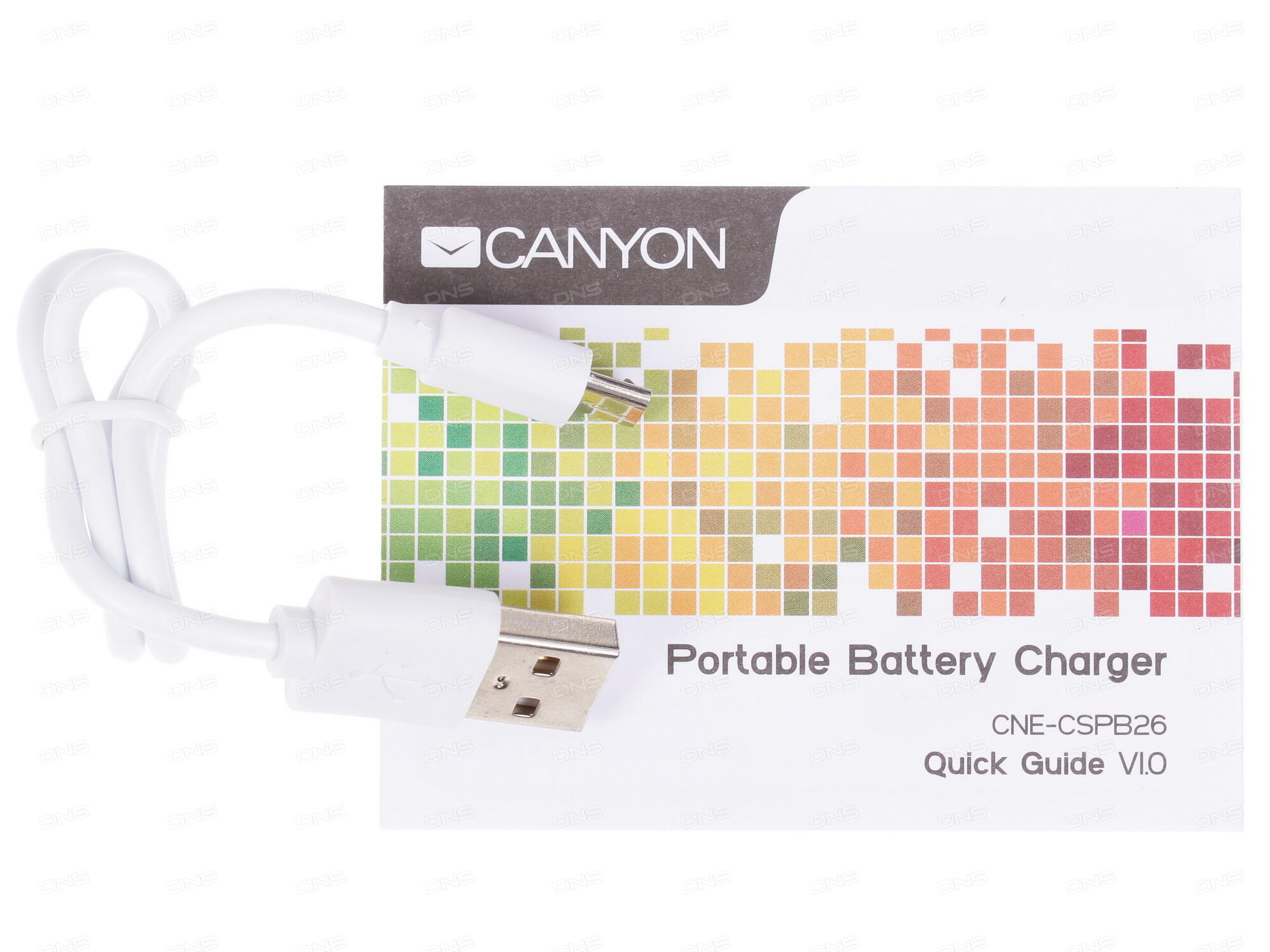 CANYON Портативный аккумулятор CNE-CPB100DG, 10000 мАч