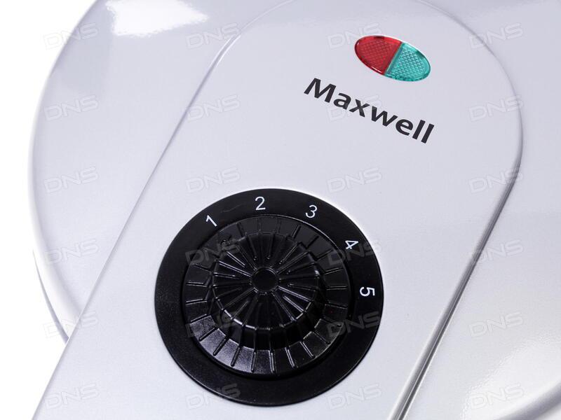 Вафельница Maxwell MW-1571 серебристый