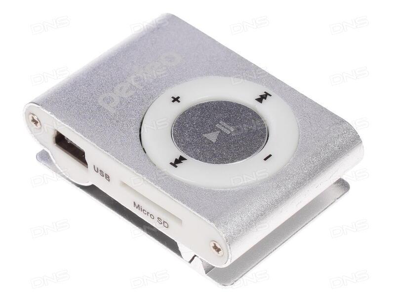 Плеер Perfeo VI-M001 Music Clip Titanium 4Gb Orange