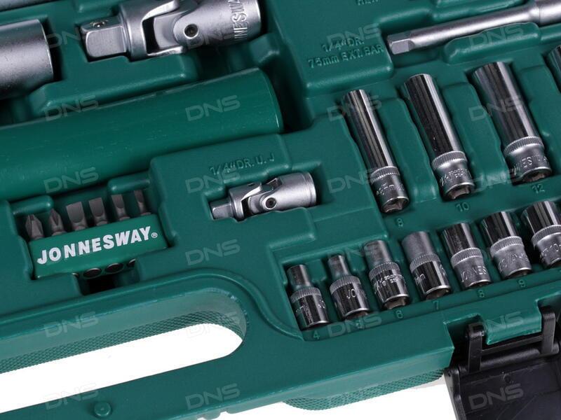 Набор инструментов в чемодане предметов jonnesway s h s