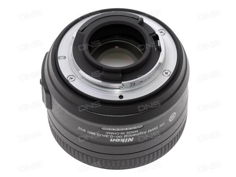 Объектив Nikon Nikkor AF-S 50 mm F/1.4 G
