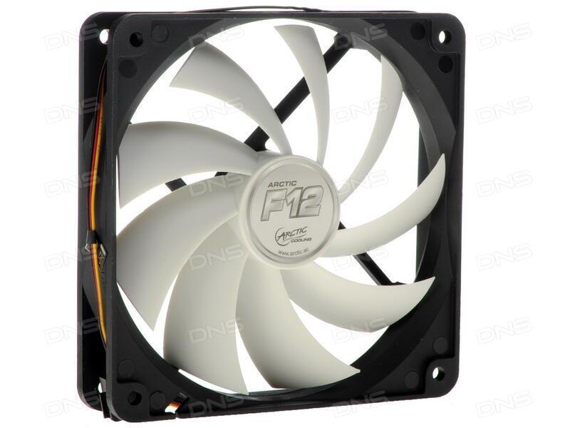 Вентилятор Arctic Cooling F12 PWM PST CO AFACO-120PC-GBA01 120mm