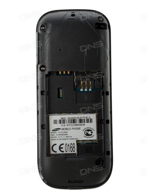 Сотовый телефон Samsung SM-J105H/DS Galaxy J1 Mini (2016) Black
