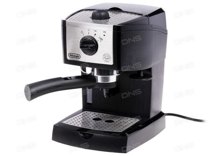 как приготовить кофе на рожковой кофеварке delonghi ес 190