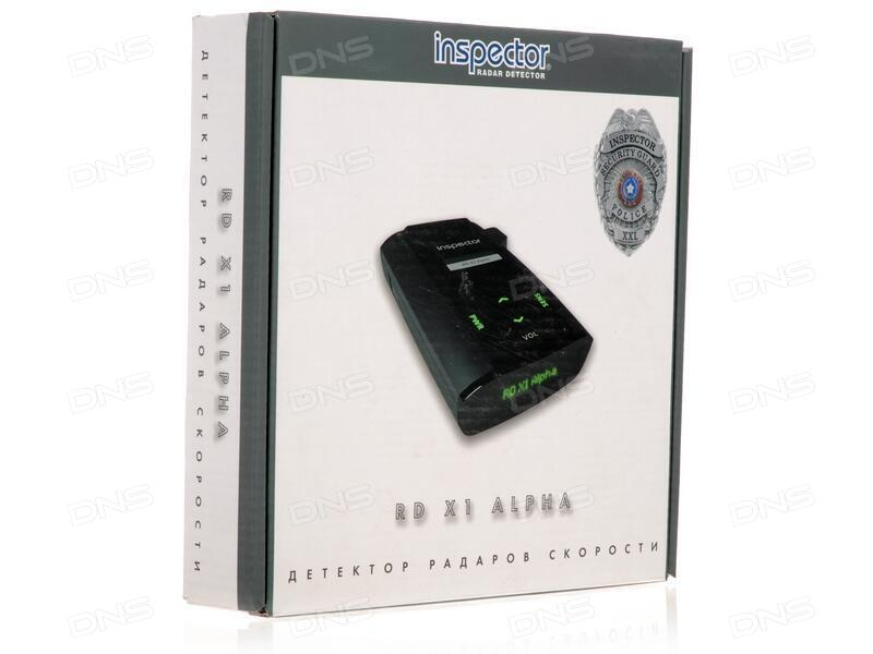 Inspector rd x1 alpha радар детектор