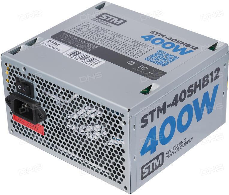 Технические характеристики Блок питания STM 400W [STM-40SH ...