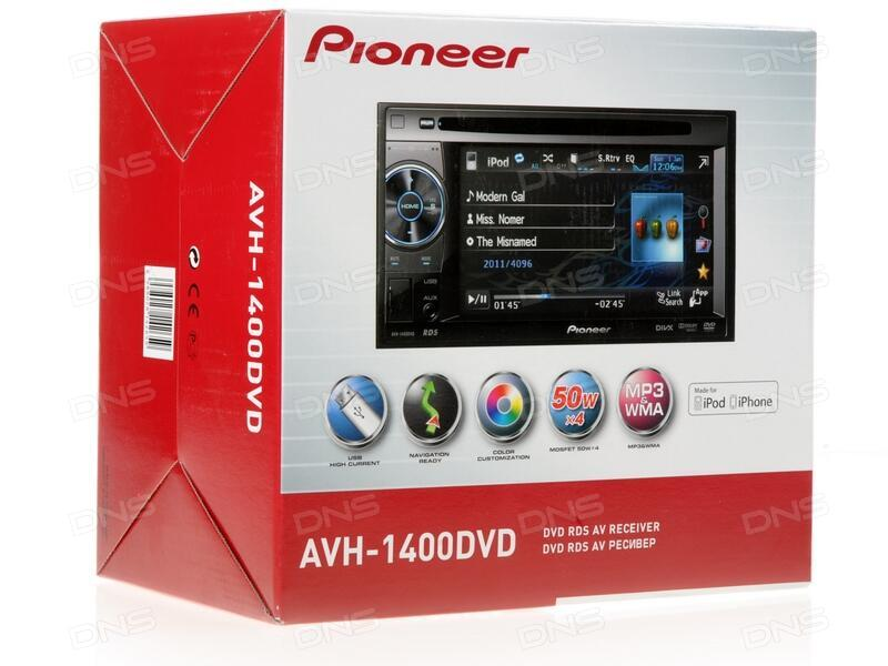 Pioneer avh 1400dvd инструкция