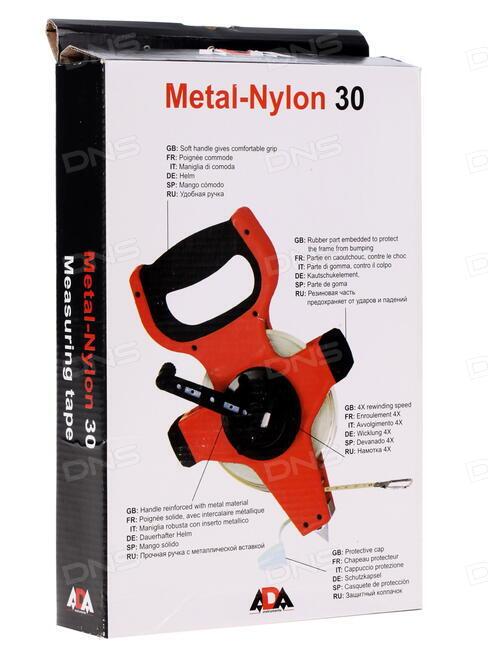 Рулетка ada metal-nylon 30 игровые автоматы однорукие бандиты бсплатно автомат апорат игра в сейф