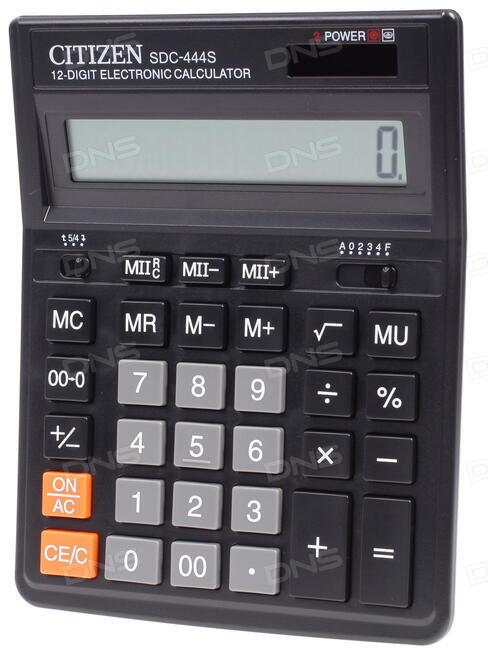 калькулятор ситизен Sdc-444s инструкция на русском - фото 10