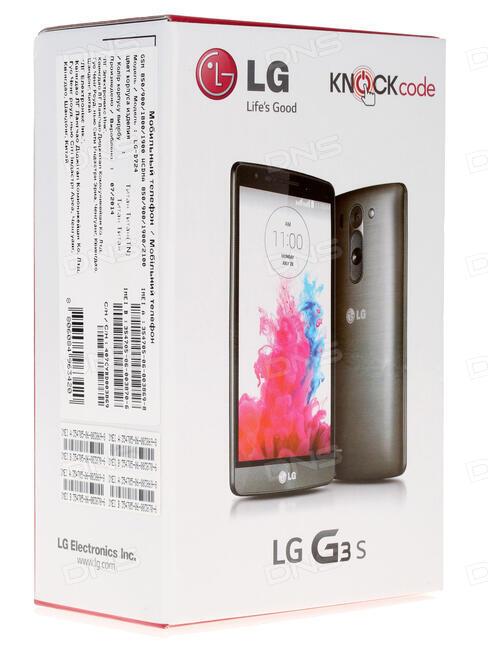 Bedienungsanleitung LG g3s