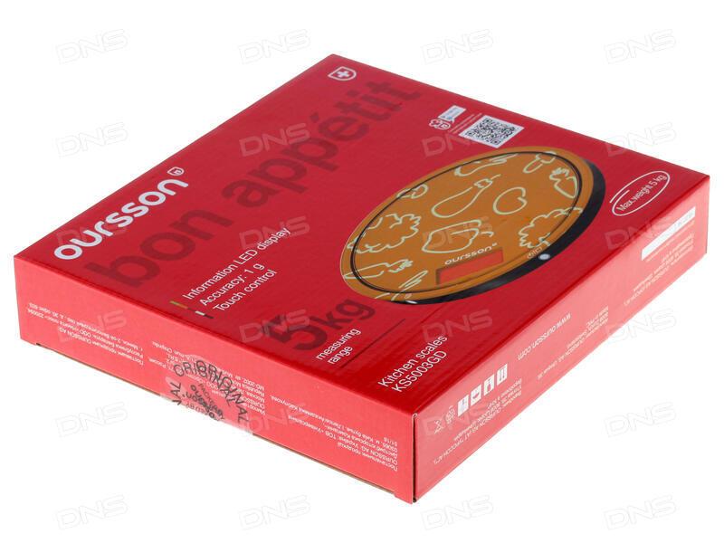 Кухонные весы Oursson KS5009GD/IV (Слоновая кость)