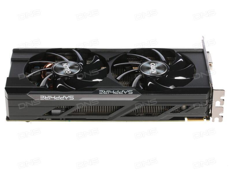 Видеокарта Sapphire Nitro ОС Radeon RX 480 1202Mhz PCI-E 3.0 8192Mb 7000Mhz 256 bit DVI 2xHDMI HDCP 11260-23-20g