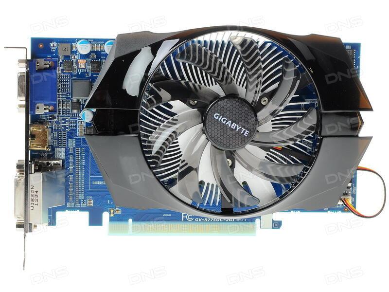 gigabyte radeon 7750 драйвера скачать