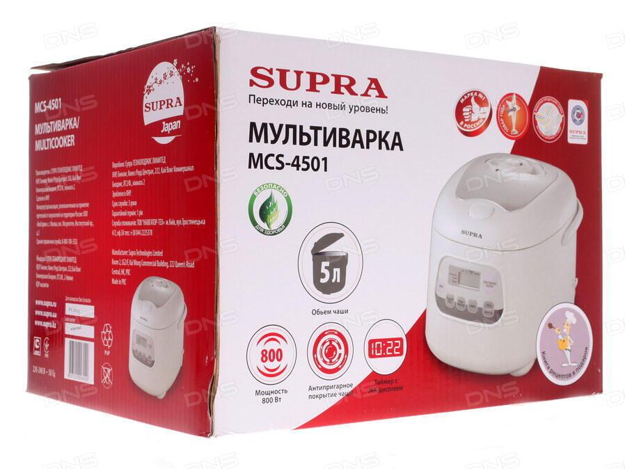 Мультиварка supra mcs-4501ы