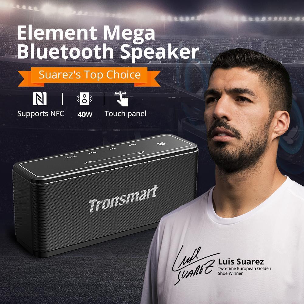 Video i Audio - Obzor Bluetooth-kolonki Tronsmart Element Mega: 40 Vt zvuka, NFC  i zashcita ot udarov za 3500 rubley