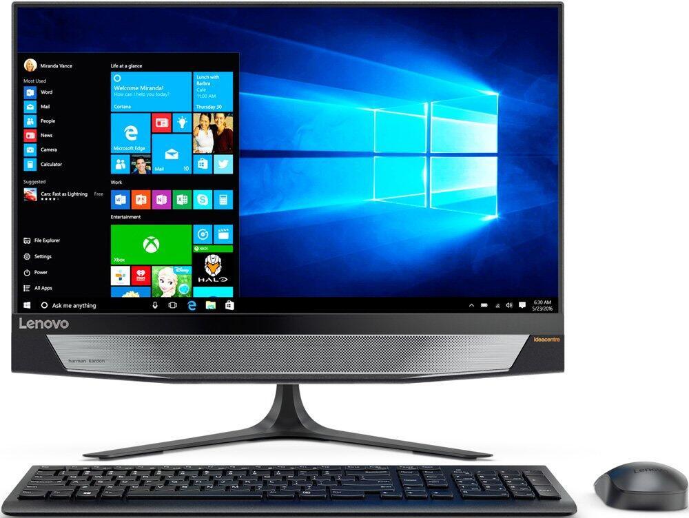 Моноблок Lenovo IdeaCentre AIO 520-24IKL (F0D1006CRK) i5-7400T(2.4)/8Gb/1Tb/23.8