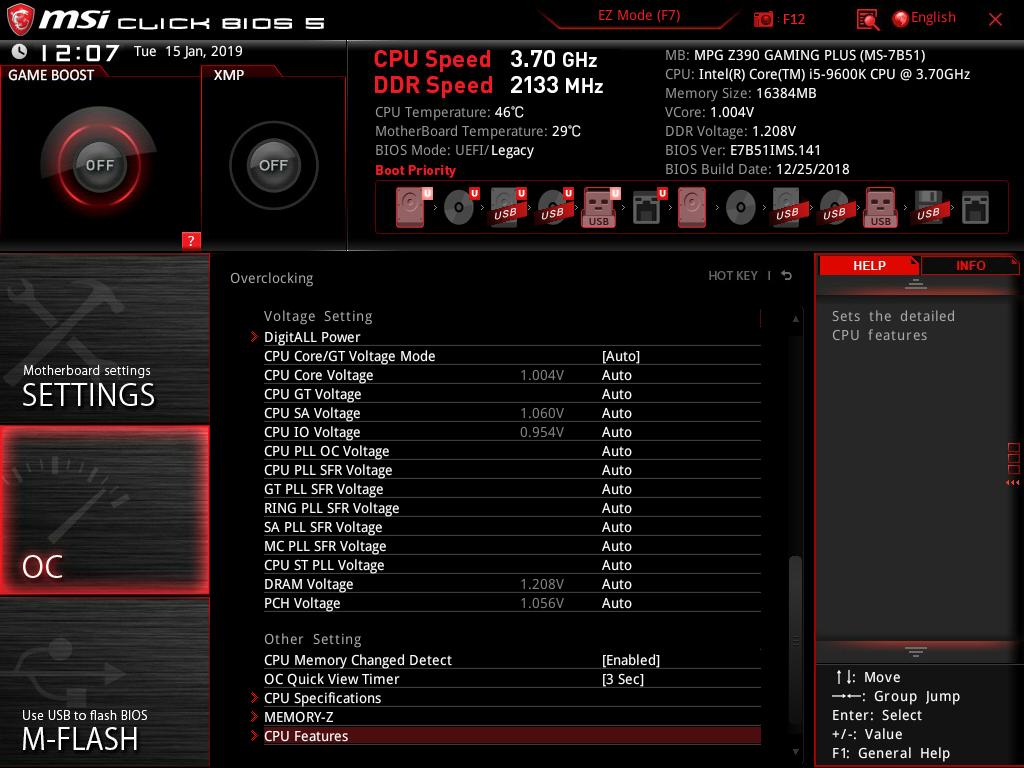 Kompyutery i komplektuyushcie - Obzor i test materinskoy platy MSI MPG Z390 Gaming Plus