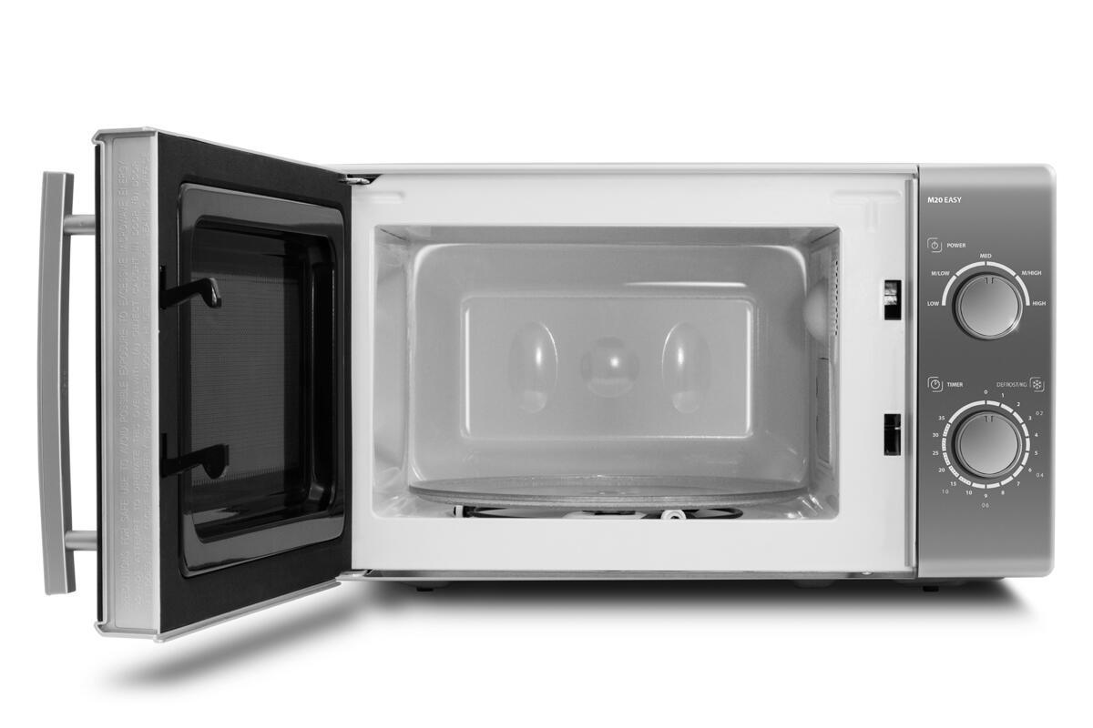 Микроволновая печь CASO MCG 30 Ceramic Chef 900 Вт серебристый чёрный