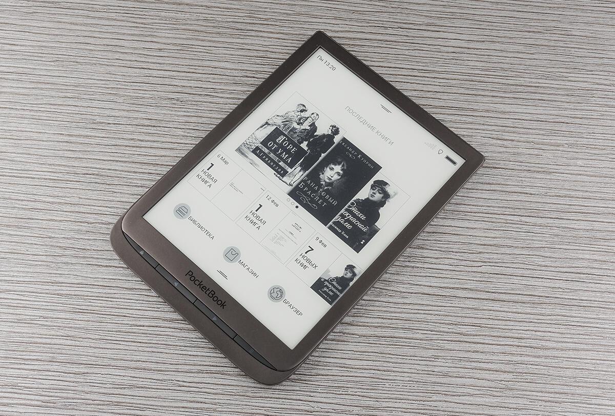 Planshety i elektronnye knigi - Obzor elektronnogo ridera PocketBook 740: bolshoy, malenkiy, bystryy i oblachnyy