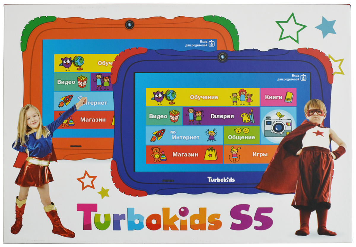 Planshety i elektronnye knigi - Obzor detskogo plansheta TurboKids S5