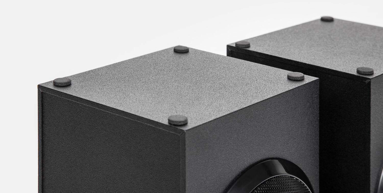 Video i Audio - Obzor Microlab M-110: ozvuchivanie studii, doma ili rabochego prostranstva