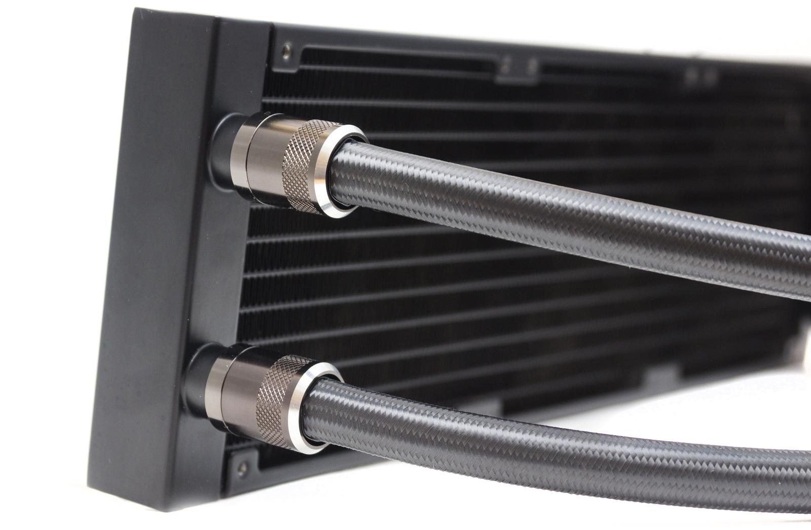 Kompyutery i komplektuyushcie - Obzor sistemy zhidkostnogo ohlazhdeniya ID-Cooling DASHFLOW 360