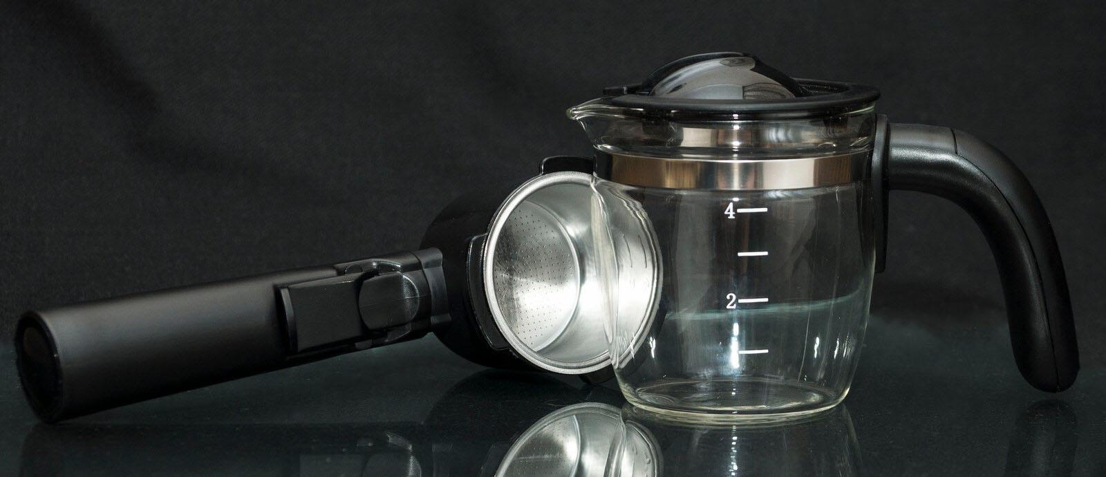 Bytovaya Tehnika - Obzor kofevarki rozhkovoy DEXP EM-801