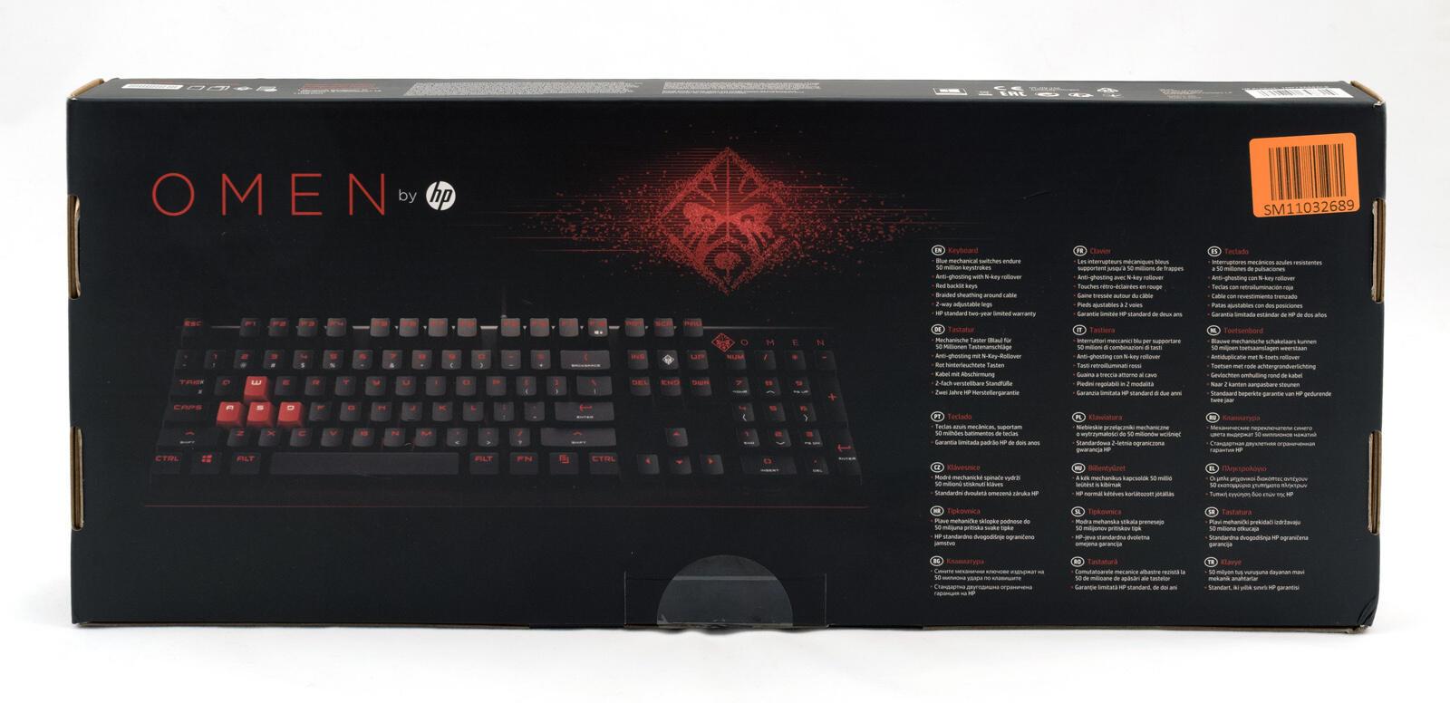 Periferiya - Obzor igrovoy klaviatury OMEN by HP Keyboard 1100