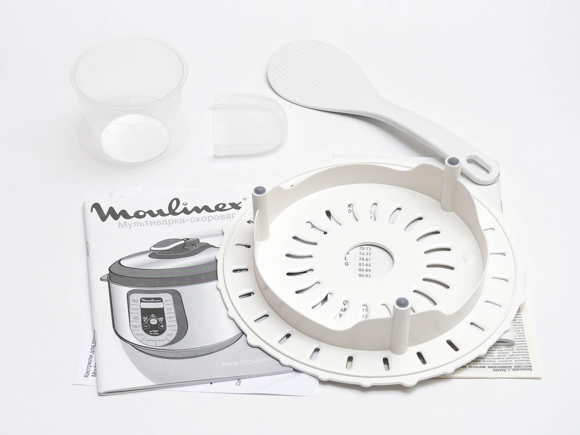 Bytovaya Tehnika - Obzor multivarki-skorovarki Moulinex CE500E32