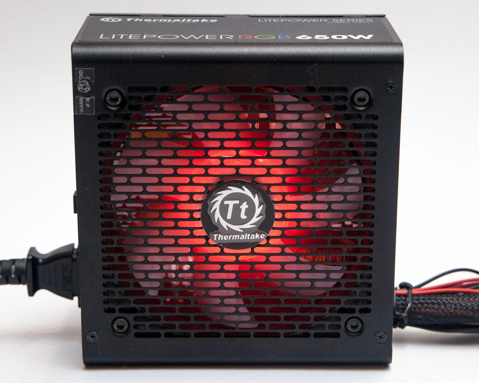 Kompyutery i komplektuyushcie - Obzor bloka pitaniya Thermaltake Litepower RGB 650W