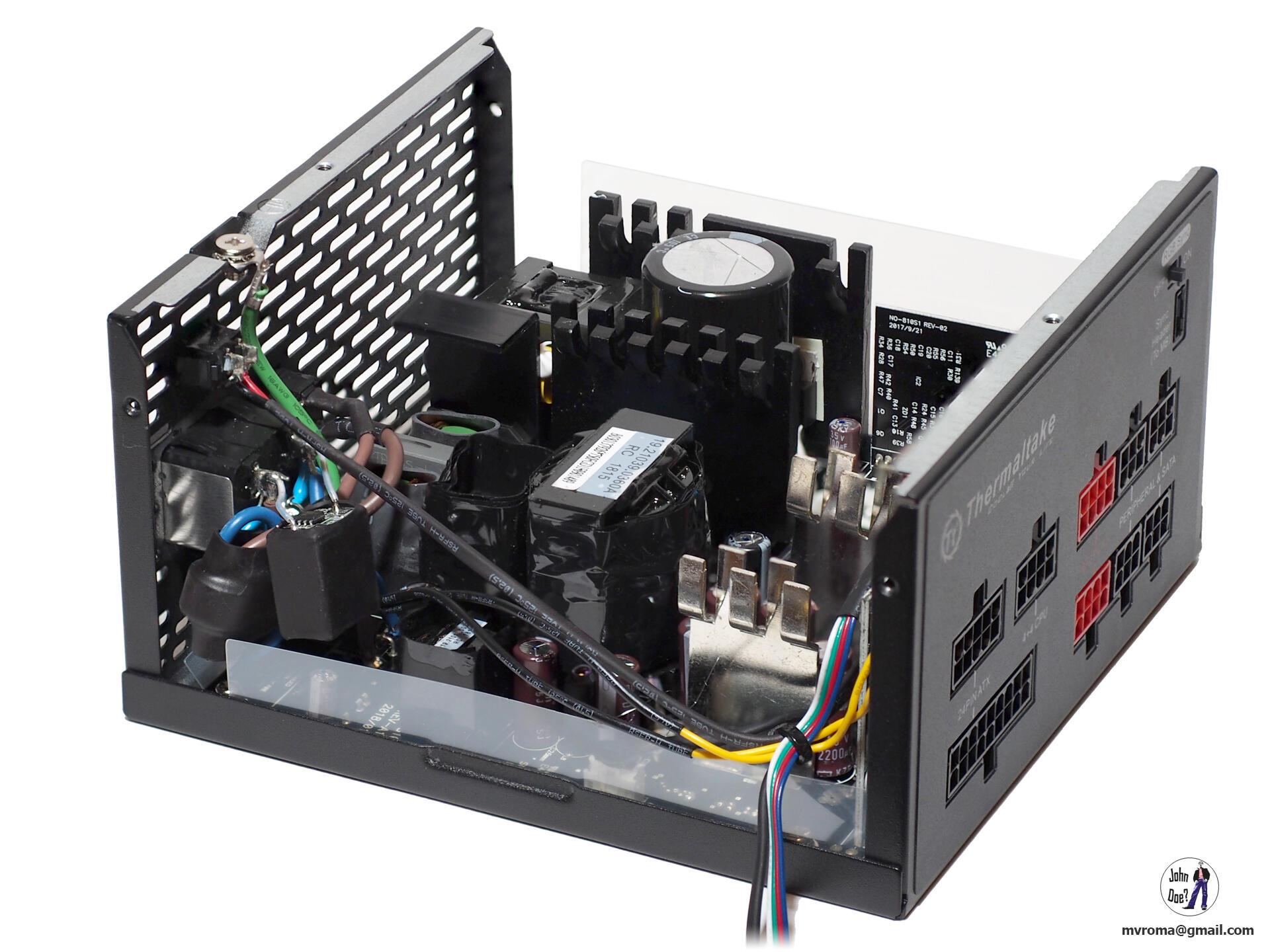 Kompyutery i komplektuyushcie - Obzor bloka pitaniya Thermaltake Toughpower Grand RGB 750W Sync Edition (PS-TPG-0750FPCGEU-S)