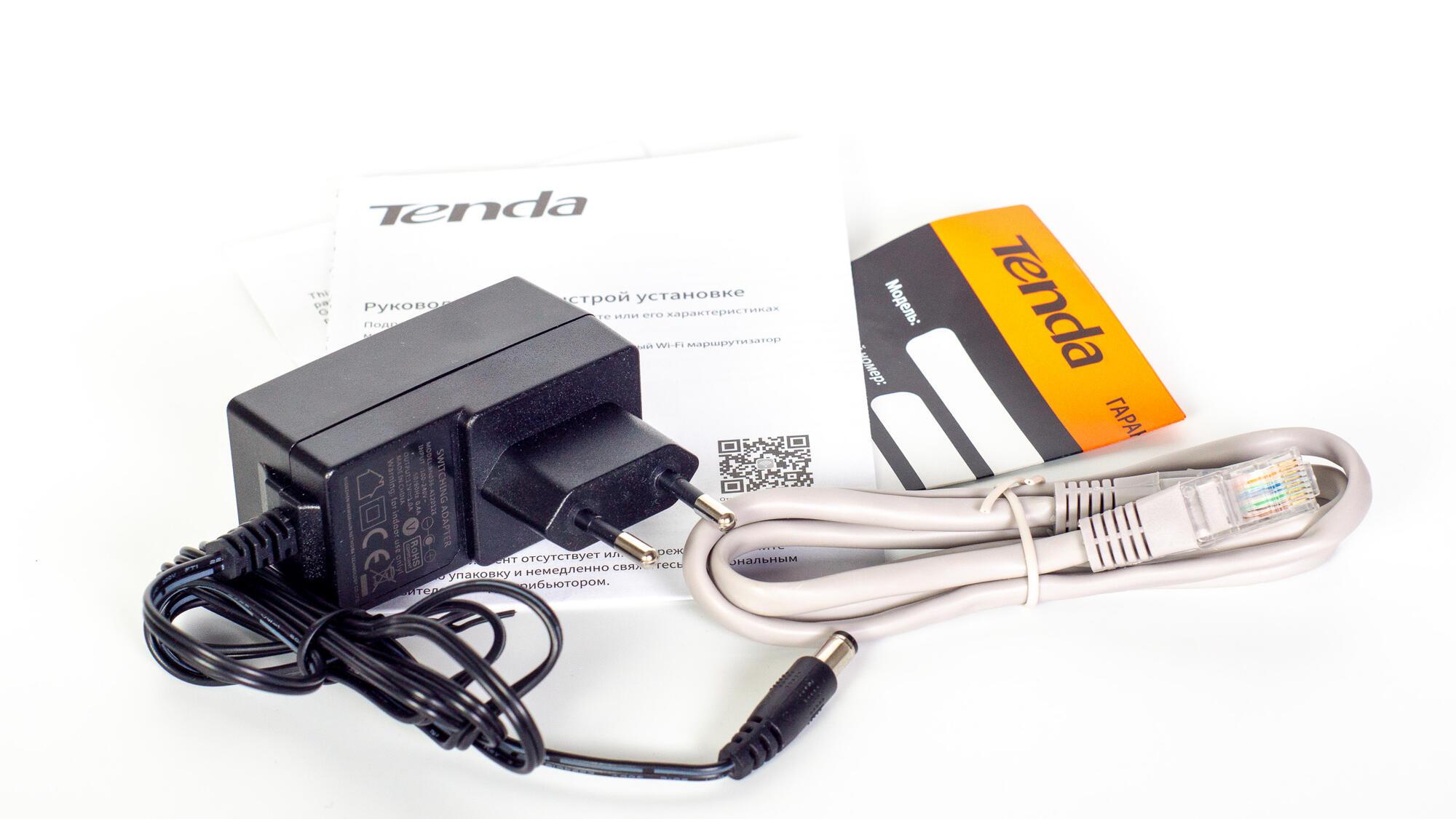 Setevoe oborudovanie - Tenda AC1200 - intellektualnyy dvuhdiapazonnyy gigabitnyy Wi–Fi marshrutizator