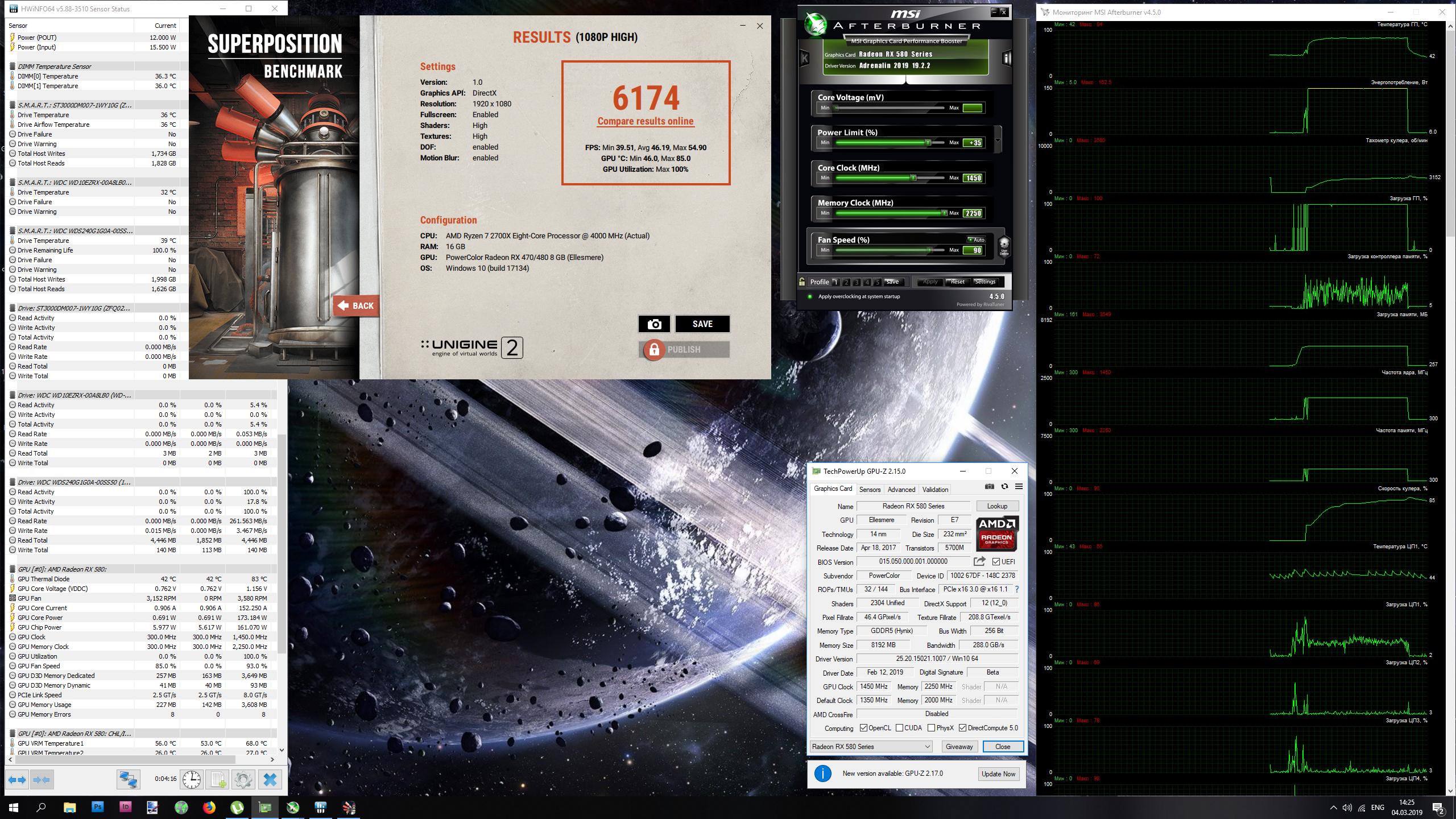 Videokarty - Obzor i testirovanie Radeon RX 590: kogda vopros v kontse ne nuzhen?*