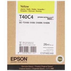 Картридж струйный EPSON T40C