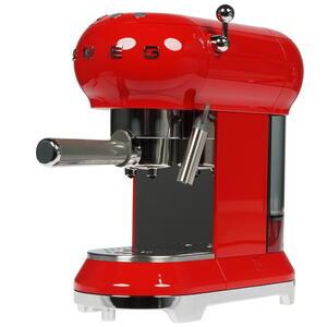 Кофеварка рожковая Smeg ECF01RDEU красный