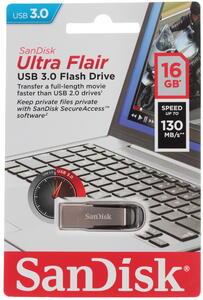 Память USB Flash Sandisk Ultra Flair 16 ГБ